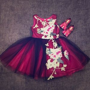 Zoe LTD Embroidered Dress